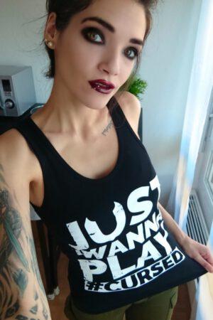 Model Freyja - Just Wanna Play Tank