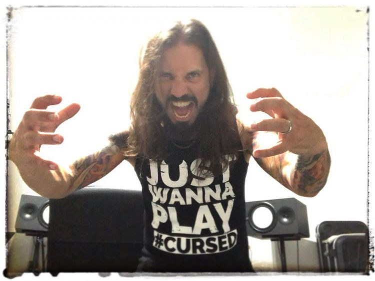 Marcos Rodriguez (Band: Rage) im Just Wanna Play Tank
