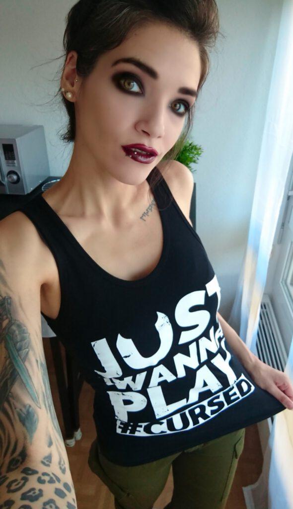 Freyja Luna - Just Wanna Play Tank Top