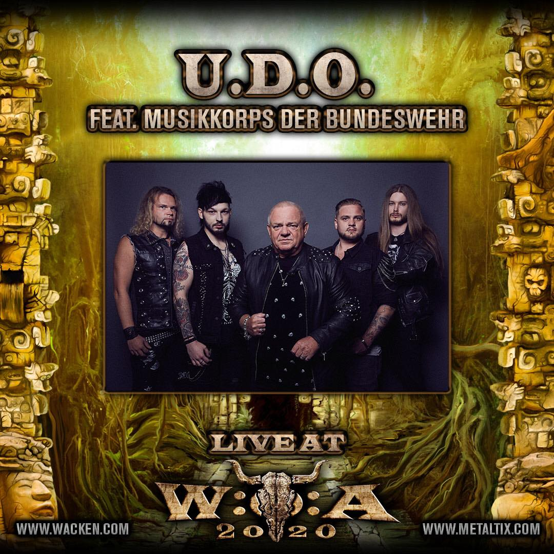 U.D.O. Wacken 2020 Dee Dammers